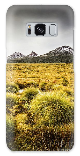 Beautiful Galaxy Case - Snowy Tasmania Mountain Top by Jorgo Photography - Wall Art Gallery