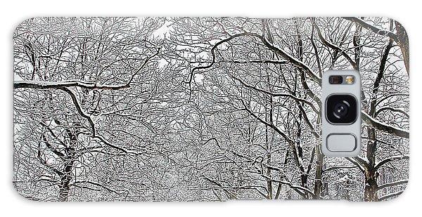 Snowy Treeline Galaxy Case