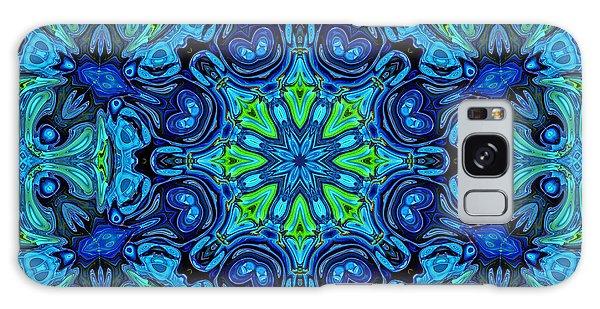So Blue - 04v2 - Mandala Galaxy Case