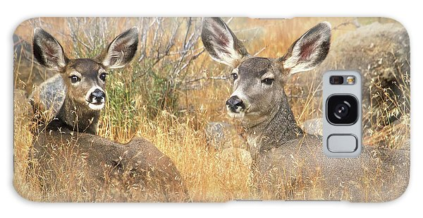 White-tailed Deer Galaxy Case - So Much For Your Secret Place... by Donna Kennedy