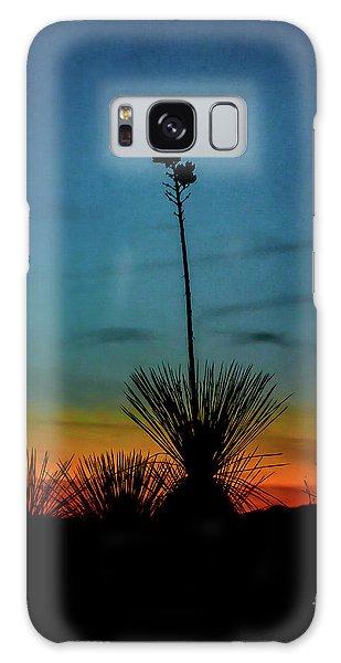 Soaptree Yucca At Sunset Galaxy Case