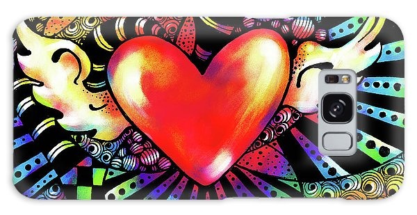 Soaring Heart Coloration Galaxy Case