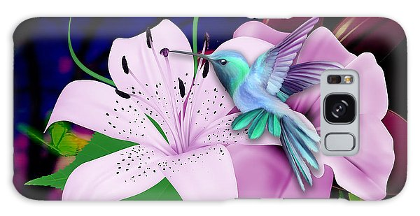 Galaxy Case featuring the mixed media Soaring by Marvin Blaine
