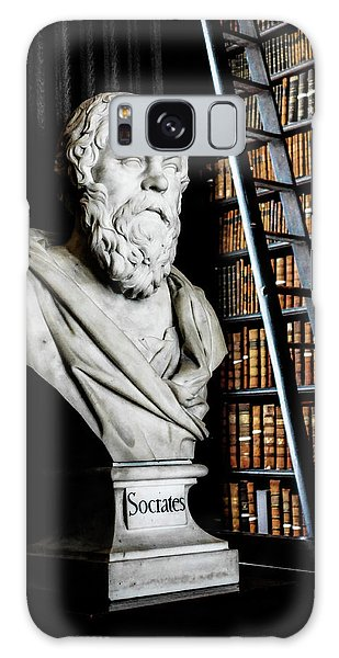 Socrates A Writer Of Knowledge Galaxy Case by Lexa Harpell