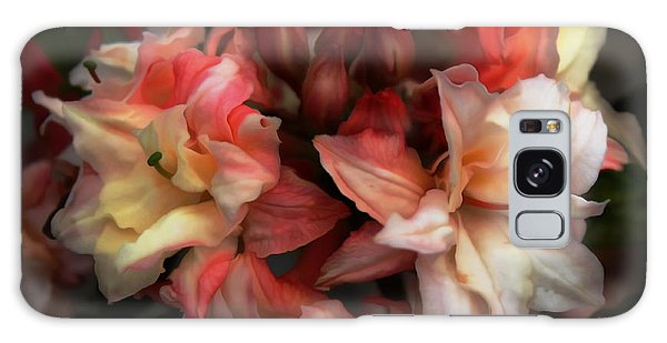 Soft Azalea Galaxy Case by Erica Hanel