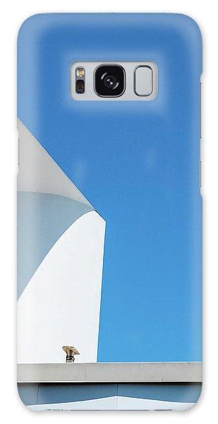 Soft Blue Galaxy Case