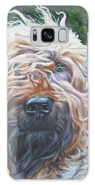 Soft Coated Wheaten Terrier Galaxy Case