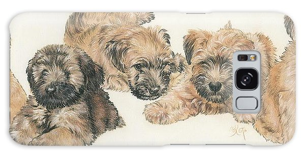 Soft-coated Wheaten Terrier Puppies Galaxy Case