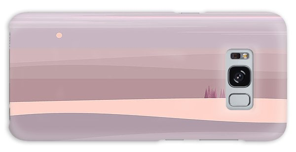 Soft Colored Landscape Galaxy Case