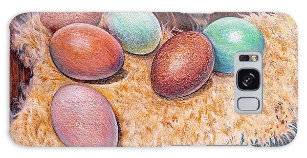 Soft Eggs Galaxy Case