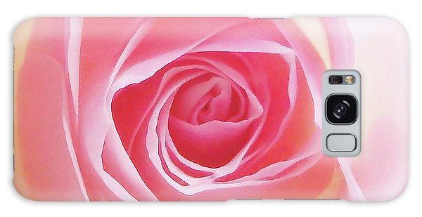 Soft Glowing Rose Galaxy Case
