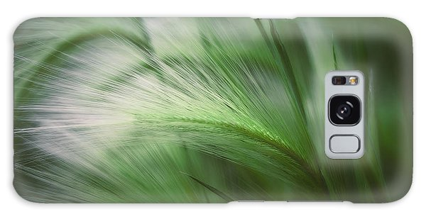 Soft Grass Galaxy Case