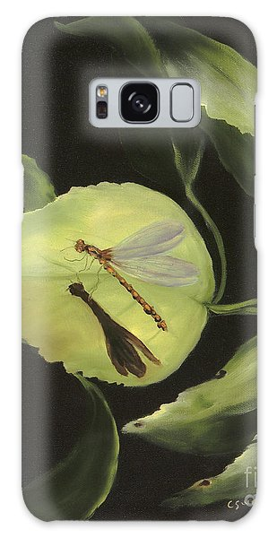 Soft Landing Galaxy Case by Carol Sweetwood