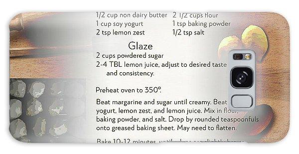Soft Lemon Cookie Recipe Galaxy Case