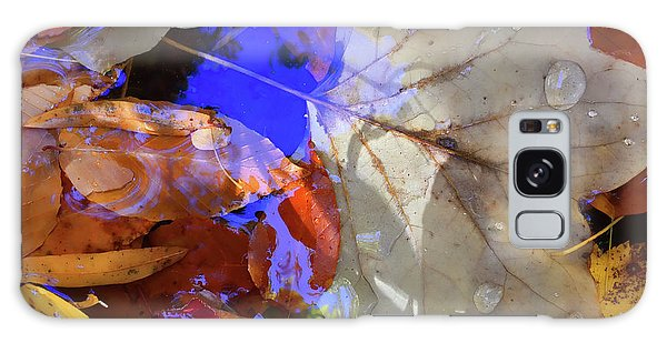 Soft Light Leaves Galaxy Case by Todd Breitling