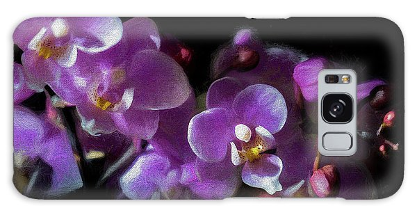Orchidaceae Galaxy Case - Soft Pastel by Marvin Spates