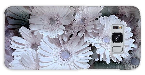 Soft Pink Daisy Bouquet Galaxy Case by Jeannie Rhode