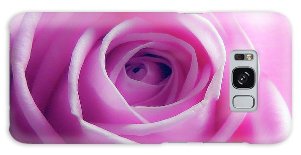 Soft Pink Rose 5 Galaxy Case
