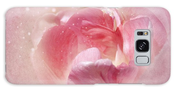 Soft Pink Tulips Galaxy Case
