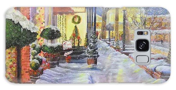 Soft Snowfall In Dahlonega Georgia An Old Fashioned Christmas Galaxy Case