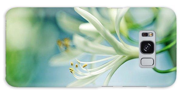 Soft Galaxy Case - Soft White by Nailia Schwarz