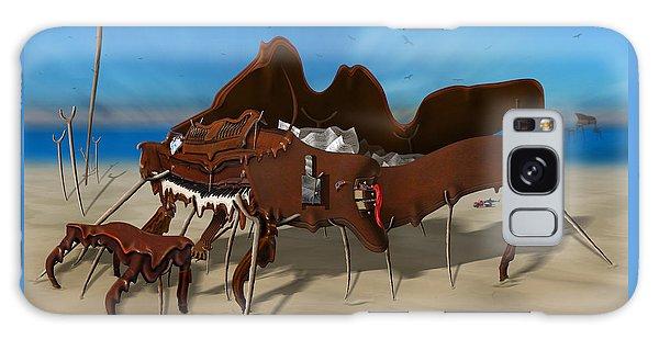Buzzard Galaxy Case - Softe Grand Piano Se Sq by Mike McGlothlen