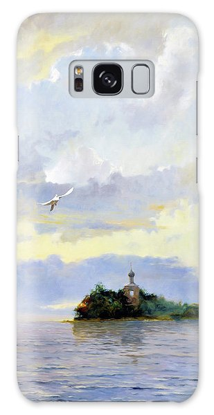 Russian Impressionism Galaxy Case - Softly Fly Away by Isabella Howard