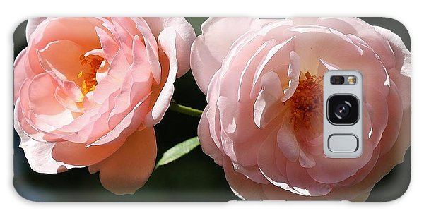 Galaxy Case featuring the photograph Softly Pink by Al Fritz
