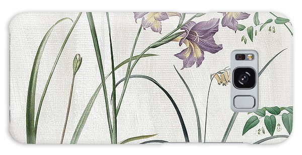 Spring Flowers Galaxy S8 Case - Softly Purple Crocus by Mindy Sommers