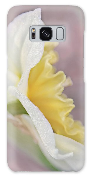 Galaxy Case featuring the photograph Softness Of A Daffodil Flower by Jennie Marie Schell