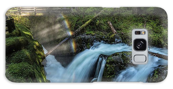 Galaxy Case featuring the photograph Sol Duc Enchantment by Expressive Landscapes Fine Art Photography by Thom