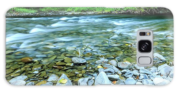 Sol Duc River In Summer Galaxy Case