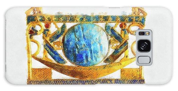 Egypt Galaxy Case - Solar Barque By Pierre Blanchard by Pierre Blanchard