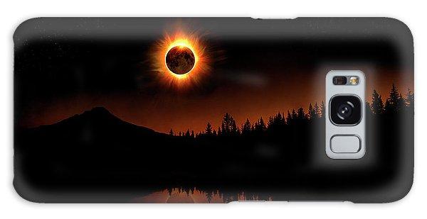 Solar Eclipse 2017 Galaxy Case