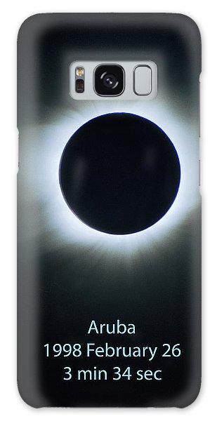 Solar Eclipse Aruba 1998 Galaxy Case