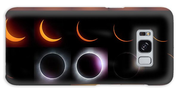 Solar Eclipse - August 21 2017 Galaxy Case