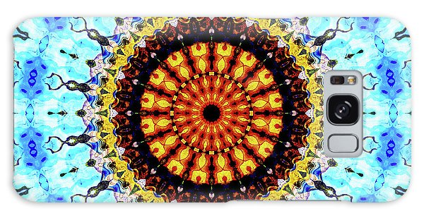 Galaxy Case featuring the digital art Solar Flare 1 by Wendy J St Christopher