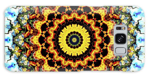 Galaxy Case featuring the digital art Solar Flare 2 by Wendy J St Christopher