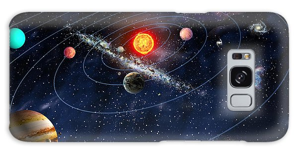 Solar System Galaxy Case by Gina Dsgn