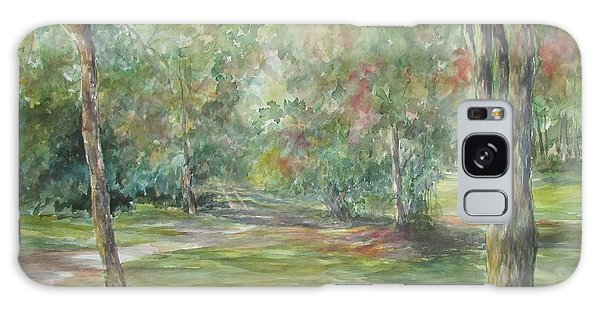 Sold River Nature Trails Galaxy Case by Gloria Turner