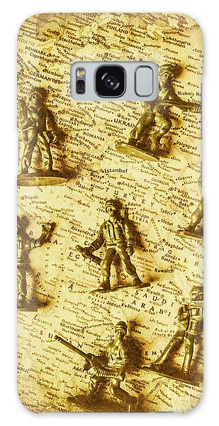 Guns Galaxy Case - Soldiers And Battle Maps by Jorgo Photography - Wall Art Gallery