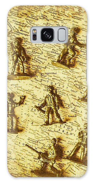 Assault Galaxy Case - Soldiers And Battle Maps by Jorgo Photography - Wall Art Gallery
