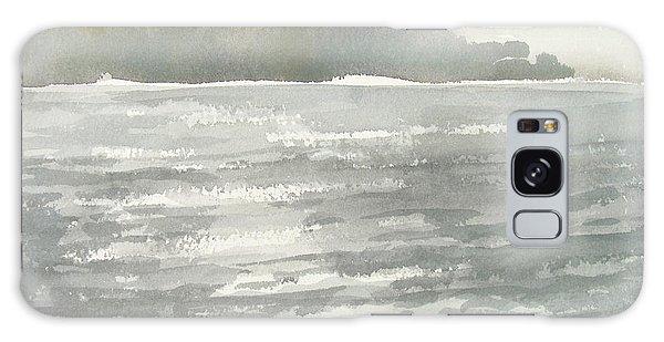 Soldis Over Glittrande Fjord - Sunlit Haze Over Glittering Water_0023 76x48cm Galaxy Case