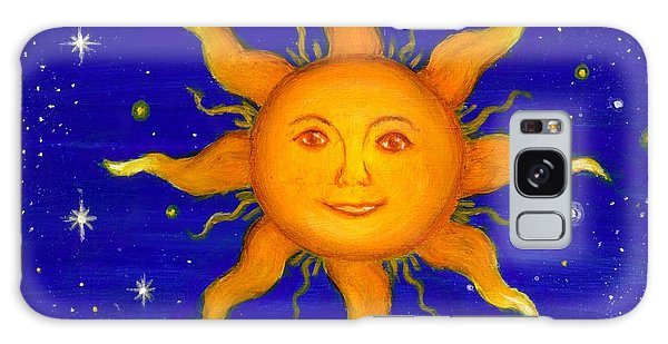Soleil Galaxy Case by Sandra Estes