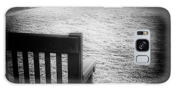 Solitary Bench In Winter Galaxy Case