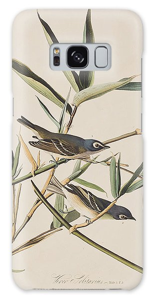 Flycatcher Galaxy Case - Solitary Flycatcher Or Vireo by John James Audubon