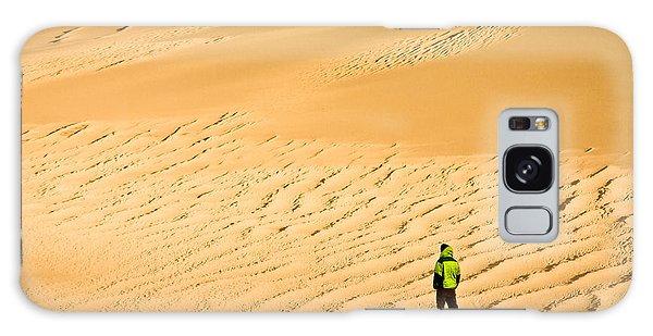Solitude In The Dunes Galaxy Case