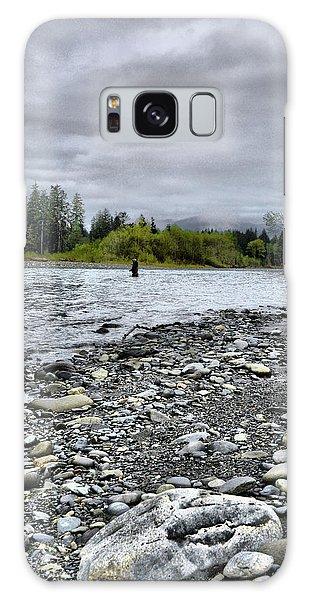 Solitude On The River Galaxy Case