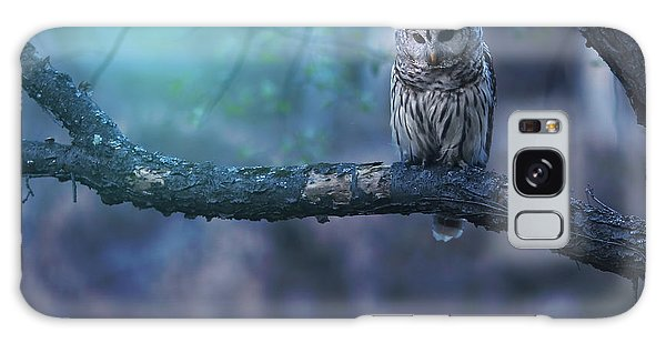 Owl Galaxy Case - Solitude - Square by Rob Blair