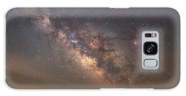 Board Walk Galaxy Case - Solitude Under The Stars  by Michael Ver Sprill